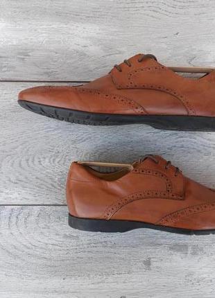 Geox raspira мужские туфли кожа оригинал броги