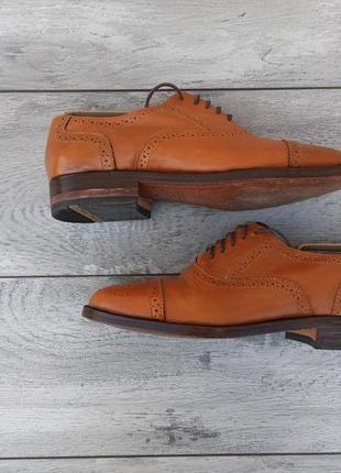 Samuel windsor мужские кожаные туфли броги оригинал англия