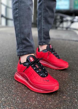 Шикарные мужские кроссовки nike air max 720-98 red красные