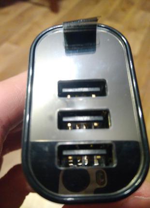 Baseus NRT-DY035 (3 USB) зарядний пристрій