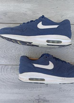 Nike air max мужские замшевые кроссовки оригинал