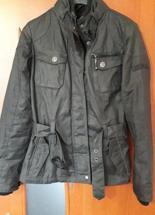 Женская new view теплая куртка милитари хаки демисезон осень в...