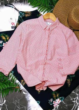 Брендовая рубашка в полоску falmer heritage