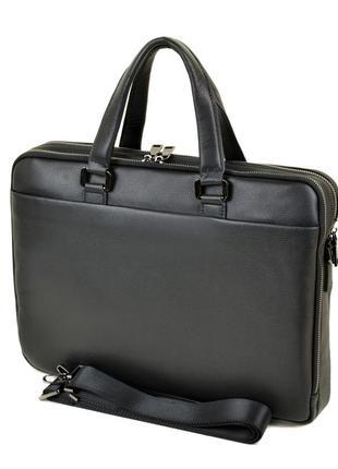Сумка мужская портфель кожаный