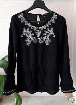 Falmer женская блузка с вышивкой вышиванка с рукавом