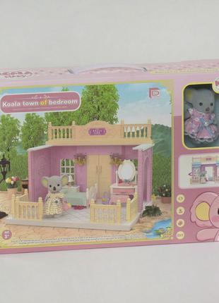 Мебель для домиков, спальня, кухня, ванна, гостиная, фигурки