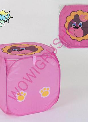 Детская игровая палатка, корзина для игрушек