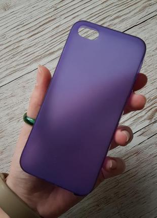 Силиконовый чехол на айфон 5 5s se iphone накладка бампер брон...