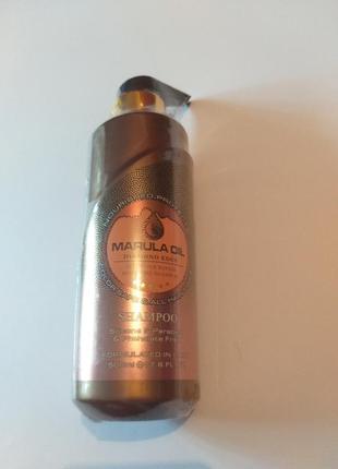 Шампунь бессульфатный для волос с маслом марулы bingo hair, 50...