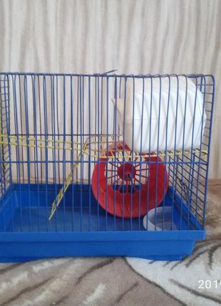 Клетка для хомяка/крысы