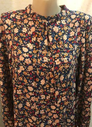 Zara стильное сатиновое платье с бантом оверсайз