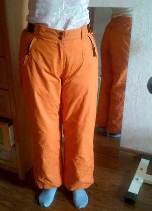 Штаны для сноуборда Spex р.XL оранжевые