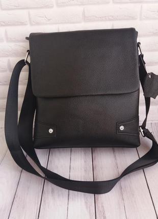 Мужская кожаная сумкаовіча шкіряна сумочка