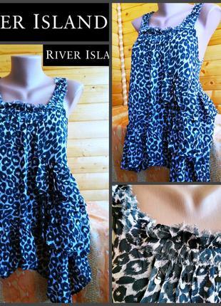 Блузка британского бренда модной  одежды river island, оригина...