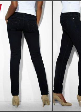 Джинсы levis juniors low rise demi curve skinny jeans