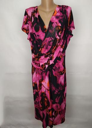 Платье модное красивое эластичное marks&spencer uk 16/44/xl