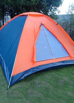 Трёхместная палатка для пикника туристическая водонепроницаема...