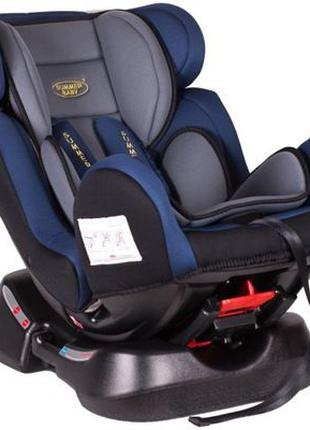 Дитяче автокрісло,Summer Baby Comfort,0-25кг,режим сну,синє,са...