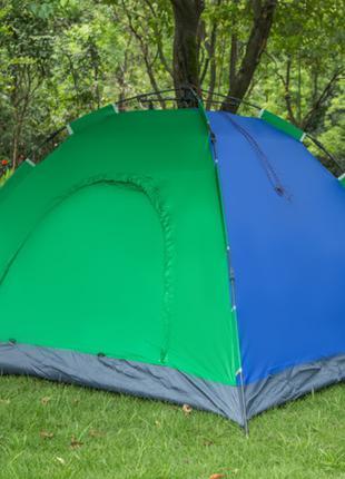 Палатка-автомат 4-х местная с автоматическим каркасом Leomax (210