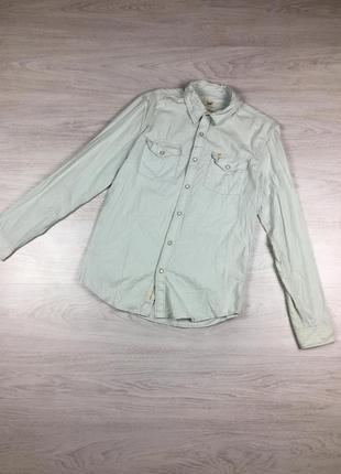 Фирмернная мужская рубашка мятная lee с длинным рукавом levis ...