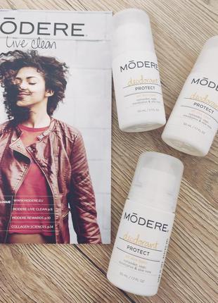 Шариковый дезодорант от пота deodorant modere (subdue neways)б...