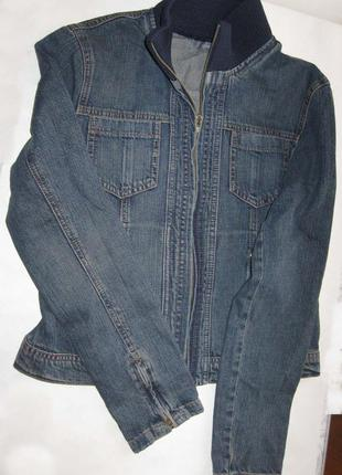 Джинсовая куртка liz claiborne размер s