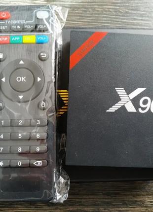 Android TV Box Enybox X96W смарт тв приставка на андроид 2\16