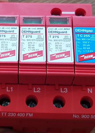 УЗИП огранич импульсных перенапряжений  DEHNguard DG TT 230 400F
