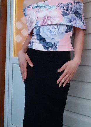 Кофточка с открытыми плечами jane norman