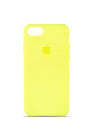Чехол накладка Original Soft Case for iPhone (HC) 7/8 Lemonade