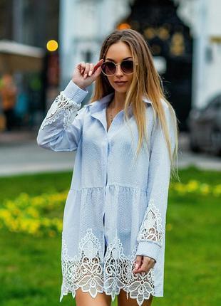 Хит сезона! стильное платье рубашка есть цвета