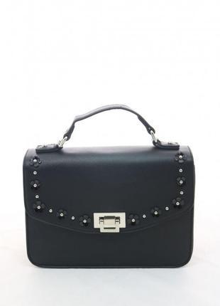 Стильная черная сумка david jones