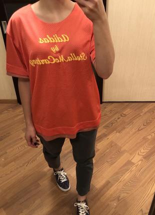 Двусторонняя футболка Adidas by Stella McCartney, S