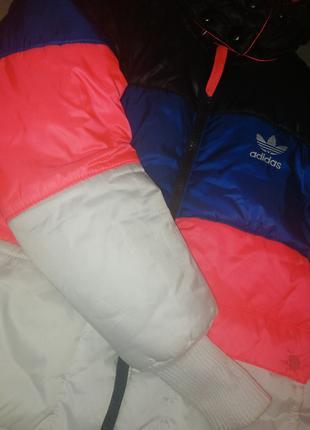 Куртка пуховик Adidas Женская