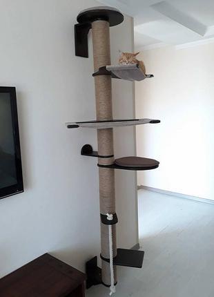 Когтеточка,домик,мебель для котов,мебель,комплекс,стойка,дряпка,г