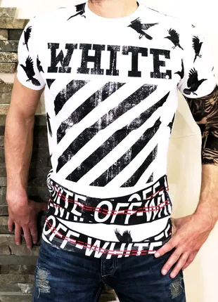 Футболка Off-White raven white
