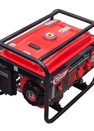 Генератор бензиновый макс мощн. 2,4 кВт., ном. 2,2 кВт., 5,5 л.с.