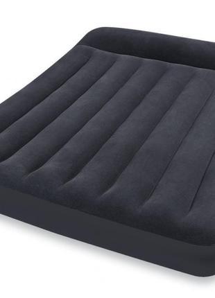 Надувной Матрас Кровать с Подголовником INTEX 66768 (191х137х23)