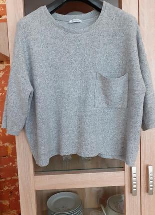 Мягенький и очень приятный пуловер большого размера