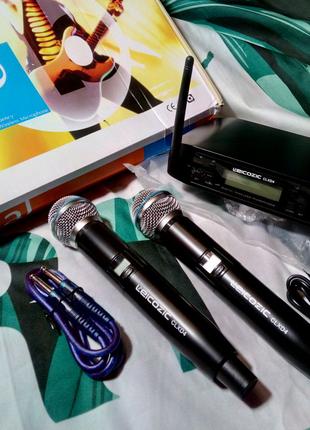 Профессиональный караоке-микрофон Leicozic беспроводная система