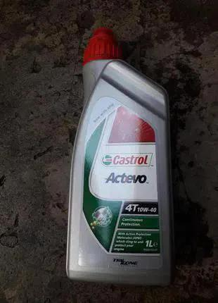Моторное масло CASTROL EVO 10W40 1Л 4-T