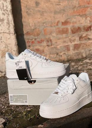 Кроссовки nike air force 1 full white