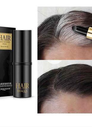 Карандаш для подкрашивания отросших корней и седины  Bioaqua Hair