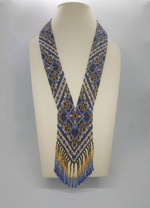 "Синий гердан галстук ""долорес"""