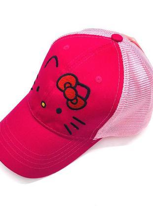 13-24 кепка hello kitty хелло китти детская бейсболка