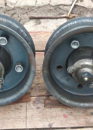 Диски со ступицами опорных колес КРН