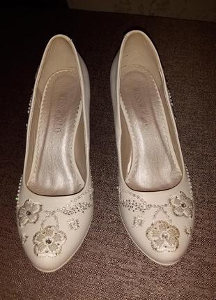 Туфли свадебные missworld