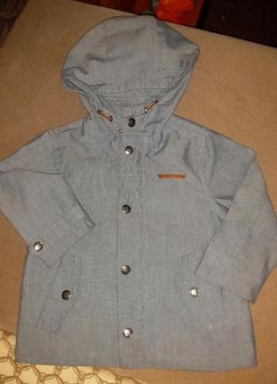 Куртка весна-осень детская zara babyboy