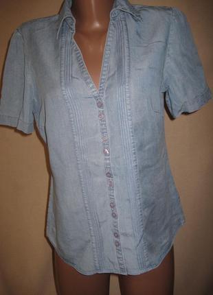 Блуза из лиоцелла спенсер р-р10