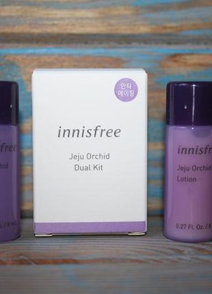 Набор миниатюр innisfree jeju orchid dual kit